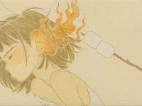 S'more24.5x33.5cm油彩,  鉛筆,  紙面, 藝術家手工框2020